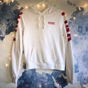 VS PINK White String Hoodie Size XS